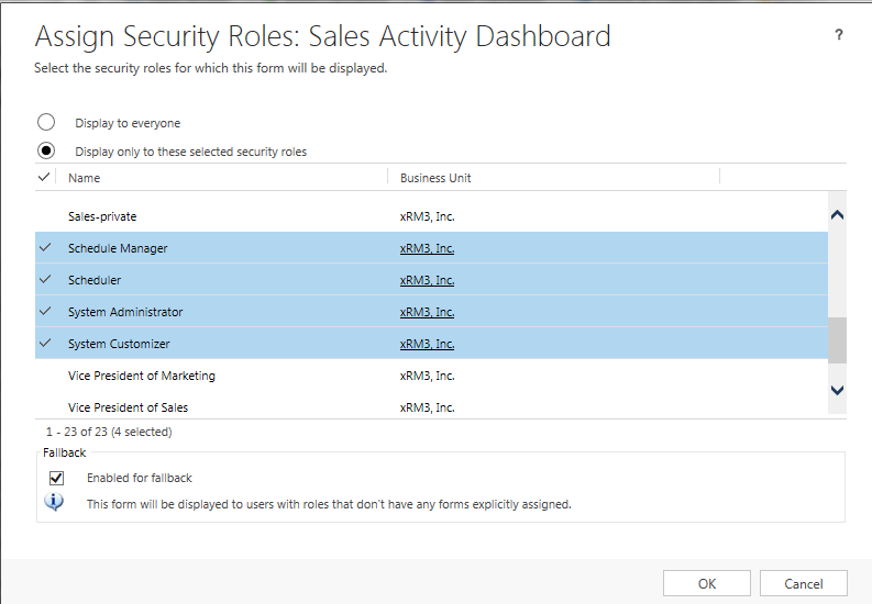 Forms Dashboard Security 4