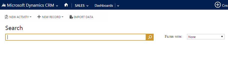 Multi-entity search CRM 2015 3