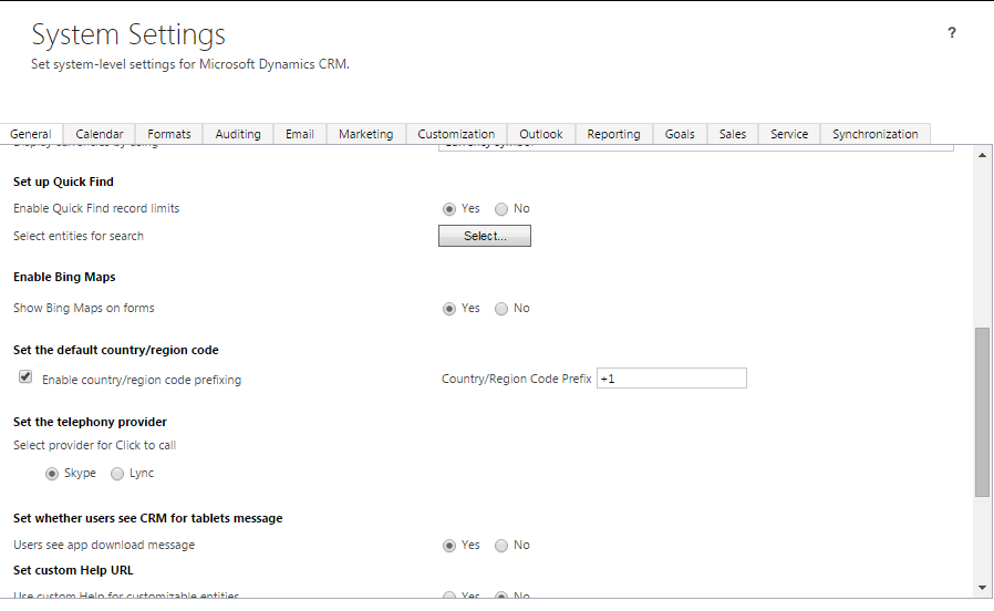 Multi-entity search setup CRM 2015 2