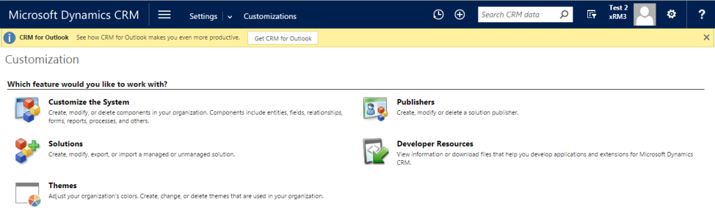 CRM Themes - Customization